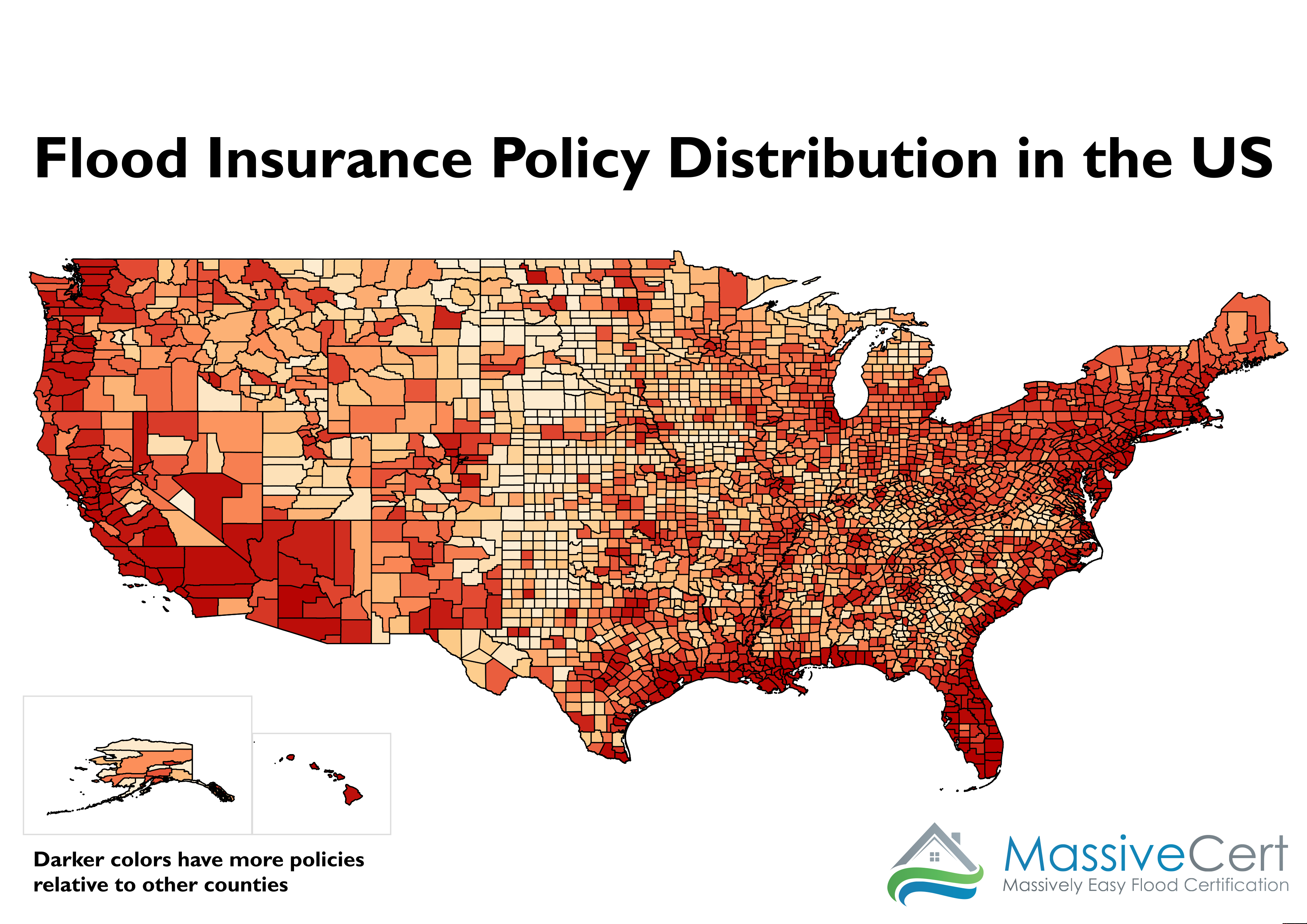 Where Are The Flood Insurance Policies In The US MassiveCert - National flood map